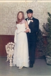 Prom picture, 1969 with Bruce Teper