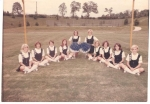 Briarcliff Highschool Cheerleaders 1967  In this photo: Libby Carlson Kent, Carol Ann Tanner,Susan Hood Jan Thibadeau Fr
