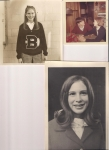 Susan Vining & Kenny Brown 1967  Homecoming Court picture and cheerleading picture 1969
