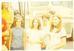 Janice Winter, Patsy Wheeler, Elise King, Martha Allen &  Susan Vining   1969 Young Life Trip