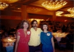 Susan Vining Bell,Bruce Teper, and Patsy Wheeler Chalfant at previous reunion